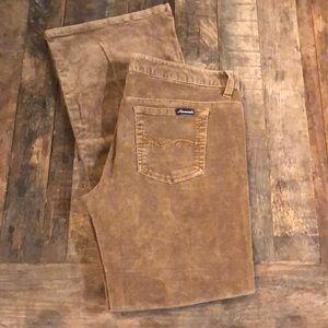 Early 2000s Light Brown Corduroy Pants
